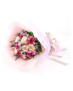 Two Tone Pink Rose A